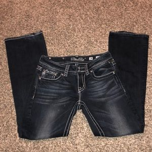 Miss me woman's bootcut jeans